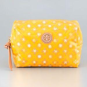 Daisy Yellow Layton Print Brigitte Cosmetic Case
